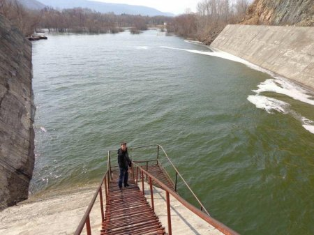 Обследование  ГТС   Артемовского гидроузла