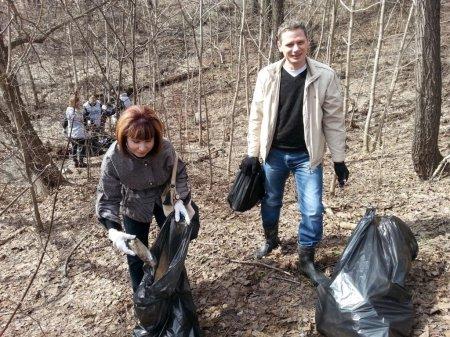 Субботник «Зеленая Весна – 2015»