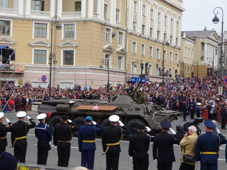 70-я годовщина Победы в Великой отечественной войне во Владивостоке