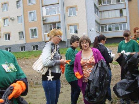 Акция «Всероссийский экологический  субботник – «Зеленая Россия»