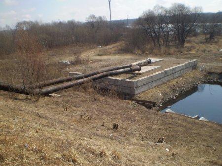 Обследование Икуринского водоотводного канала и защитных дамб (левобережной и правобережной) города Биробиджан