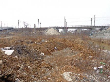Рейдовое мероприятие с целью проверки соблюдения режима использования водоохранных зон, прибрежных защитных полос рек Богатая и Пионерская города Владивосток