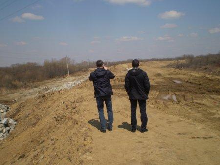 Обследование Николаевской и Даниловской дамб Смидовичского района ЕАО