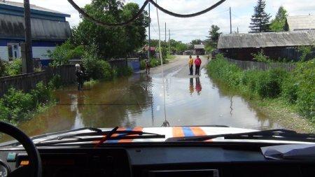 Прохождение дождевого паводка на территории ЕАО