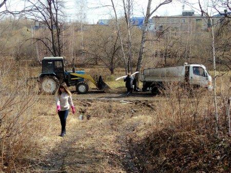 Всероссийский экологический  субботник в Хабаровске